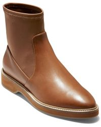 Cole Haan Go-to Leather Bootie - Brown
