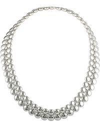 Cartier - Cartier 18k Two-tone 5.25 Ct. Tw. Diamond Necklace - Lyst