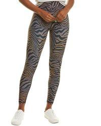 Chrldr Tiger High-waisted Legging - Brown