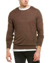 AllSaints Allsaints Riviera Cashmere Crewneck Sweater - Brown