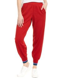 LNDR Chalet Wool Pant - Red