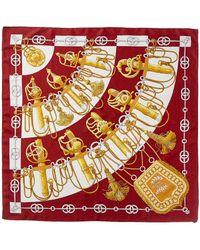"Hermès - ""cliquetis,"" By Julia Abadie Silk Scarf - Lyst"
