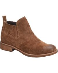 Söfft Bellis Suede Bootie - Brown