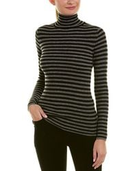 Vince - Skinny Rib Cashmere Sweater - Lyst