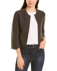 Autumn Cashmere Wool-blend Jacket - Green