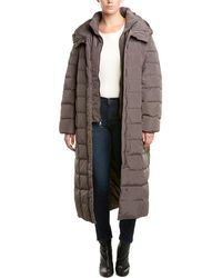 Cole Haan Long Down Puffer Coat - Multicolour