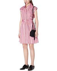 10 Crosby Derek Lam Cora Shirt Dress - Pink
