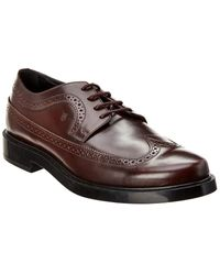 Tod's Tod?s Leather Oxford - Brown