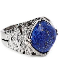 Tacori - Colour Medley 18k & Silver 9.00 Ct. Tw. Lapis Ring - Lyst