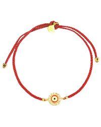 Tai Jewellery 14k Enamel Bracelet - Red