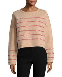 Manoush - Studded Sweater - Lyst