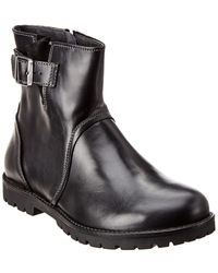 Birkenstock Stowe Leather Boot - Black
