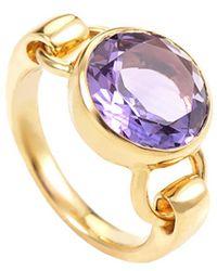 Poiray 18k 5.00 Ct. Tw. Amethyst Ring - Metallic