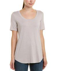 Three Dots Evelyn T-shirt - Natural