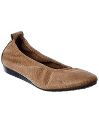 Arche Laius Leather Flat - Brown
