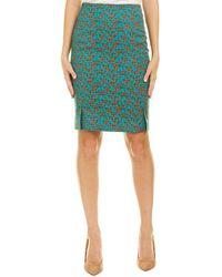 Akris Pencil Skirt - Green