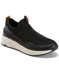 Earth Journey Ramble Leather Sneaker - Black
