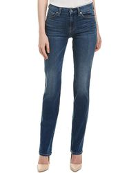 7 For All Mankind 7 For All Mankind Kimmie Ellie Soft Heritage Straight Leg - Blue