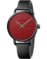 Calvin Klein Even Watch - Red