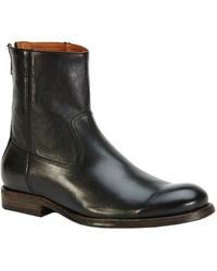 Frye Jacob Leather Boot - Black