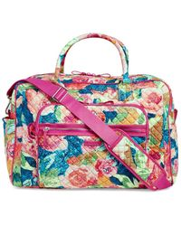 Vera Bradley Iconic Weekender Travel Bag - Pink