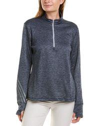 adidas Originals 1/4-zip Pullover - Blue