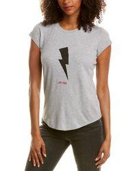 Zadig & Voltaire Skinny Flashlight Just Zadig T-shirt - Grey