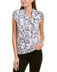 Karl Lagerfeld Floral Top - White