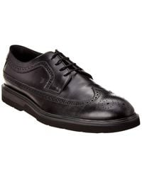 Tod's Leather Oxford - Black