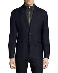The Kooples - Buttoned Wool Sportcoat - Lyst