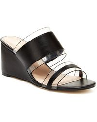 Nanette Lepore Isabel Wedge Sandal - Black