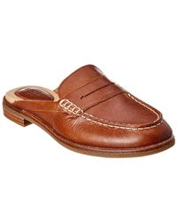 Sperry Top-Sider Seaport Leather Mule - Brown