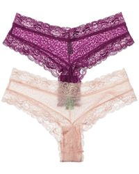 Honeydew Intimates Intimates Set Of 2 Marti Hipster - Purple