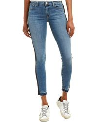 J Brand 811 Mid-rise Linear Skinny Leg - Blue