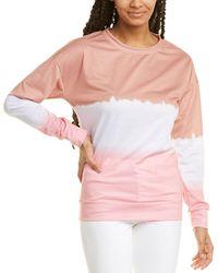 RAFFI Bias Rib Vanise Wool & Cashmere-blend Jumper - Pink