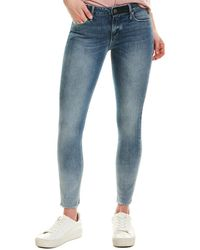 RTA Prince Distressed Mid-rise Pant - Blue