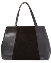 Halston - Leather Tote - Lyst