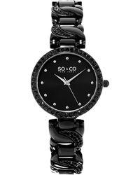 SO & CO Soho Watch - Black