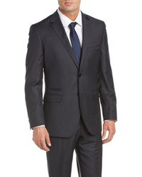 English Laundry - Wool Suit With Flat Front Pant - Lyst