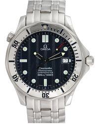 Omega Omega 1990s Men's Seamaster Watch - Metallic