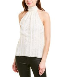 Ramy Brook Lori Silk-blend Top - White