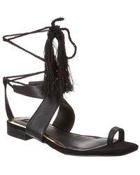 Jaggar Leather Compel Sandal - Black