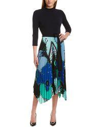 Donna Morgan A-line Dress - Blue