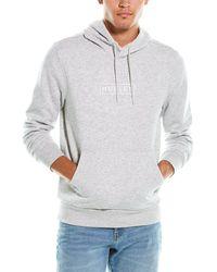 Hurley Boxed Logo Fleece Hoodie - Grey