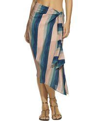 ViX Ana Midi Skirt - Blue