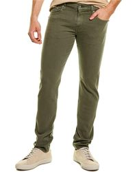 7 For All Mankind 7 For All Mankind Paxtyn Light Army Skinny Leg Jean - Green