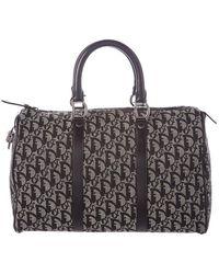 80611e336a59 Lyst - Dior Large Crocodile Detective Bag Silver in Metallic
