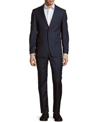 Michael Kors - Solid Textured Wool Suit - Lyst