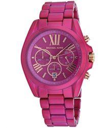 Michael Kors Bradshaw Watch - Pink