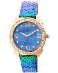 Boum Women's Forte Watch - Blue